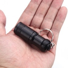 CREE XM-L T6 LED Flashlight Mini Black CREE Waterproof Q5 LED Flashlight Rotary switch Zoomable LED Torch Penlight Flashlight