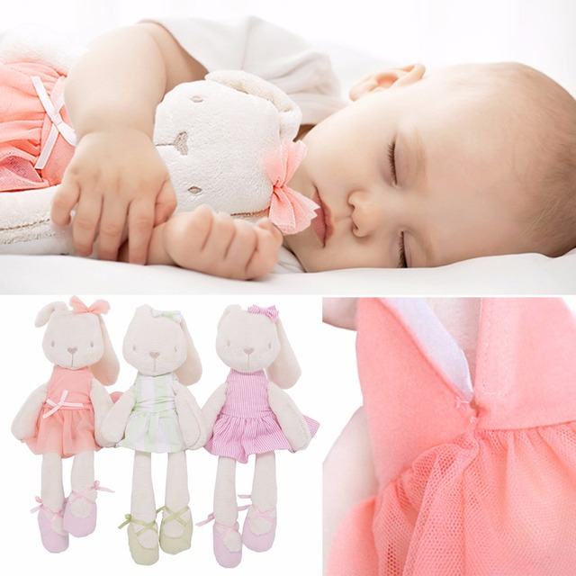 Cute 45cm Large Soft Stuffed Animal Bunny Rabbit Toy Baby Kid Girl Sleeping Stufed Toys Pets