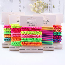 5pcs/Set  Mix Color Hair Accessories Rubber Bands Elastic Ring Hats Girl Elastic Ponytail Hair Band Holder Tin Rope Hair Jewelry 100pcs girl elastic bands ponytail holder rubber hair elastic kid accessories candy ribbon ring rope children jewelry accessory