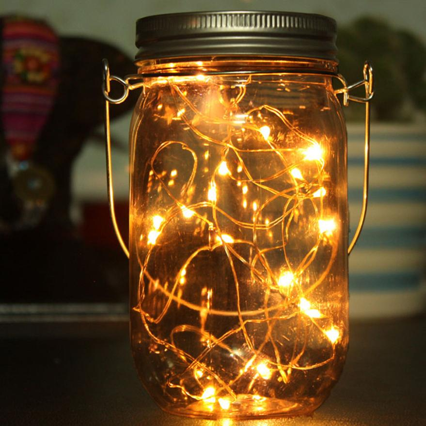Muqgew Wholesale Led Fairy Light Solar Powered For Mason