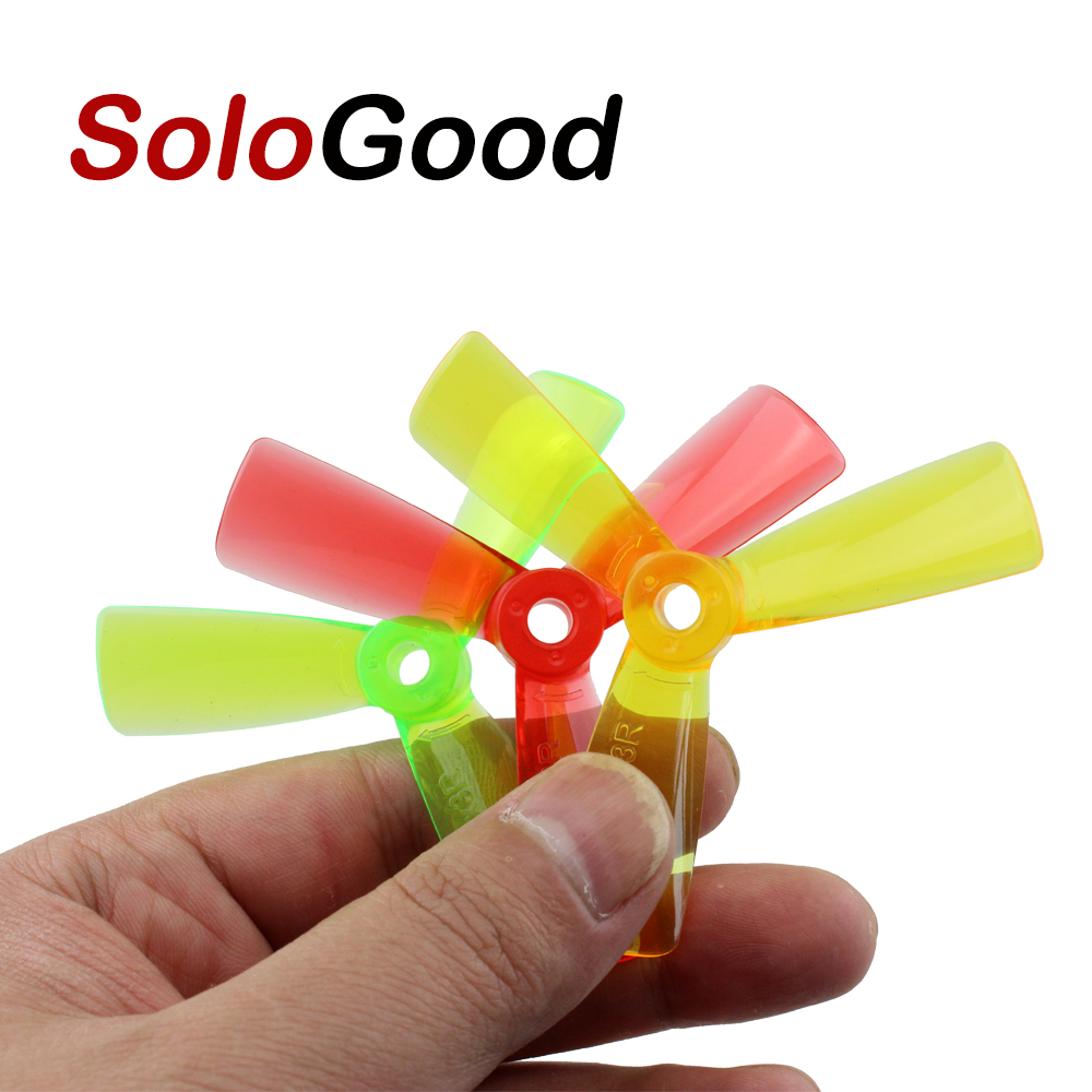 20pcs/lot SoloGood <font><b>3045</b></font> 5045 3*4.5*3 5*4.5*3 Brushless Tri-Blade <font><b>Propellers</b></font> Props CW CCW For FPV QAV210 250 280 Drone (10 pair) image