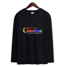 K-pop Harajuku T Shirt Travis Scotts ASTROWORLD Printed Cotton t Long Sleeve Kpop camisa masculina fitness tee shirt