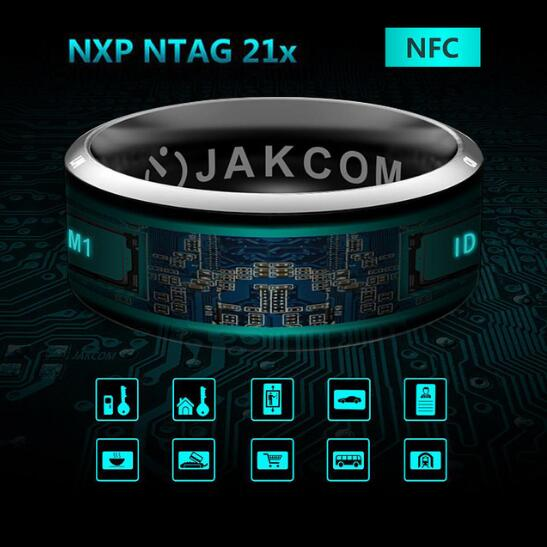 Original Smart Ring Wear Jakcom R3 R3F MJ02 New Technology Magic Finger NFC Ring for Android Windows NFC Mobile Phone jakcom r3 smart ring for nfc mobile phone
