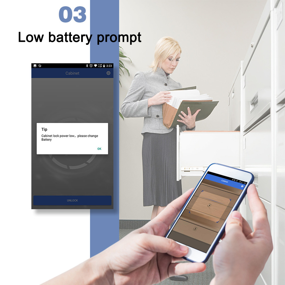 Electronic Bluetooth Smart Invisible Cabinet Lock Door Drawer Auto Safety Secure Tool XM66Electronic Bluetooth Smart Invisible Cabinet Lock Door Drawer Auto Safety Secure Tool XM66