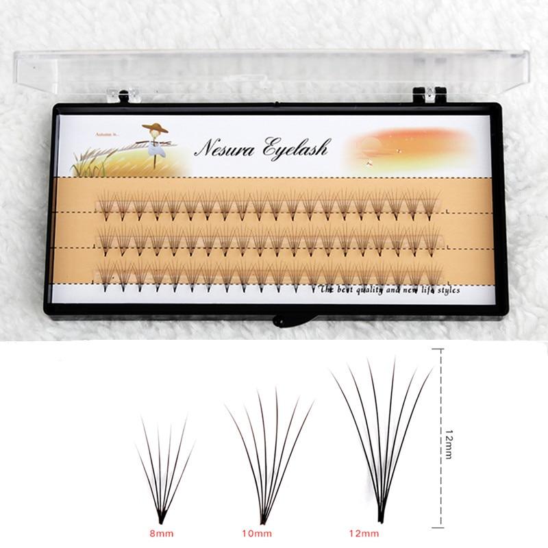 Professional Soft 0.07 C 10D Wave Individual Eyelashes 60 Cl