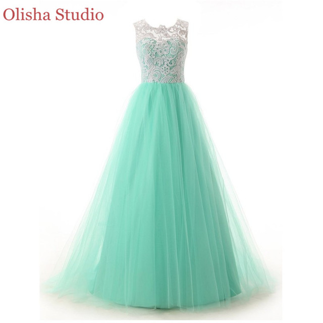 A Line Turquoise Homecoming Dress Lace Semi Formal Dresses