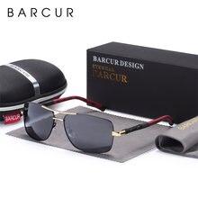 Barcur прямоугольные Поляризованные солнечные очки для вождения