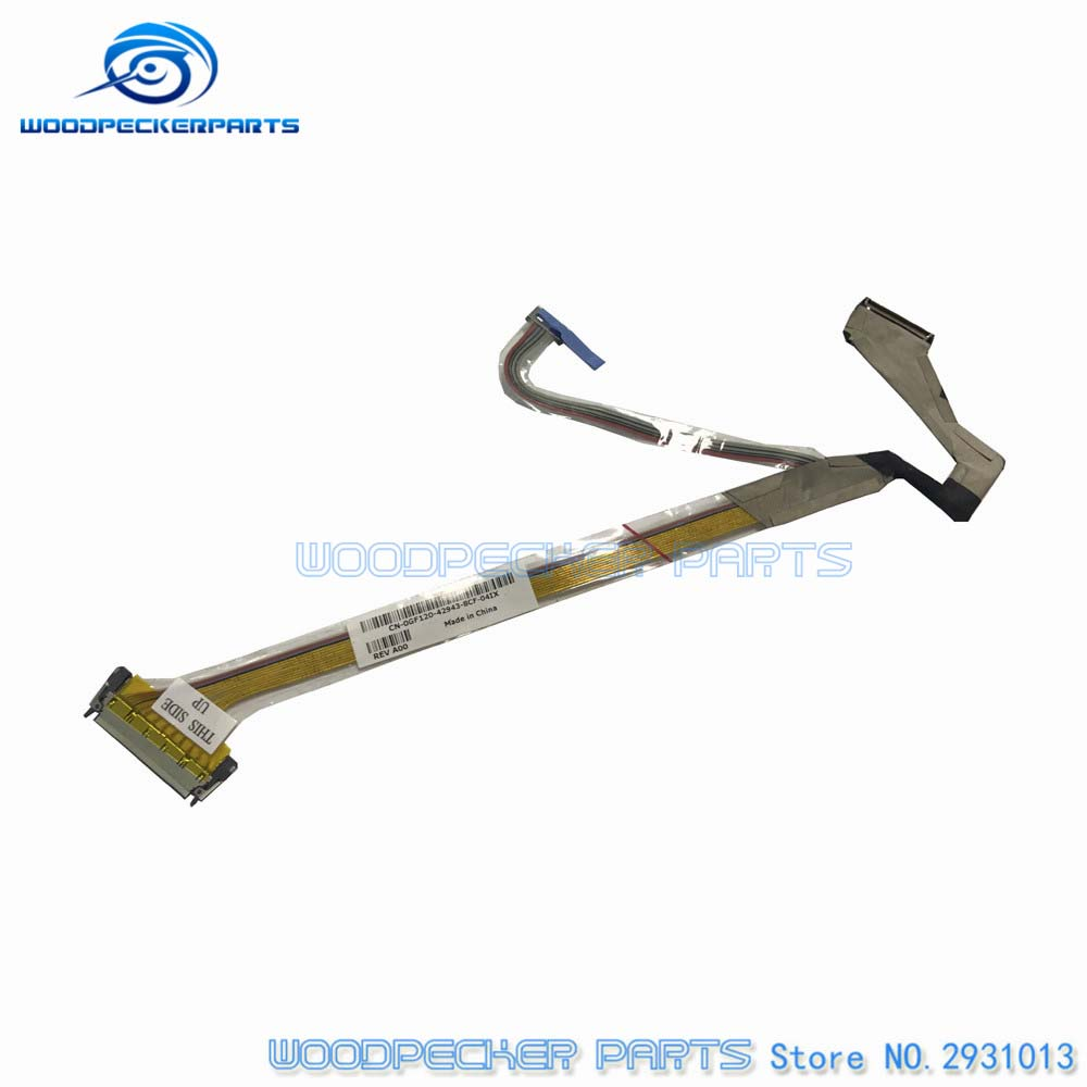 Free Shipping Laptop New For DELL D820 D830 M65 D531 15.4'' Laptop LCD Screen Flex Cables CN-0GF120 0GF120