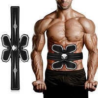 New EMS Electric Muscle Simulator Massage Abdominal Muscle Press Trainer Sports Academy Gym Home Exercise Fitness Body Machine