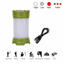 4 Mode Portable Lantern Emergency 30 LED Camping Lantern Waterproof Flashlight Torch Hanging Tent Lamp With Magnet,Use 18650/AAA(China)