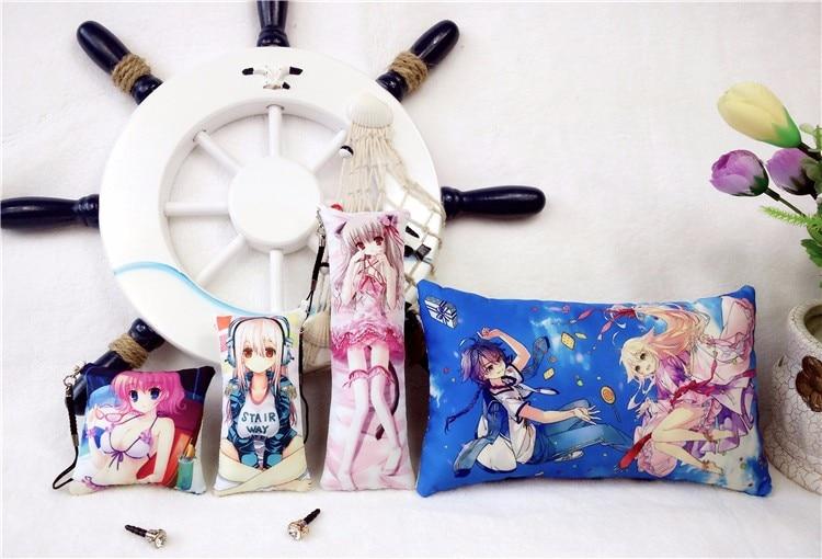Danganronpa V3 Ouma Kokichi Keychain Mini Dakimakura Cute Phone Strap 1pcs