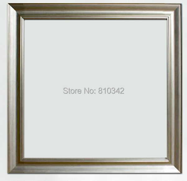 Wooden silver Frame for prints or oil painting photo frames for ...