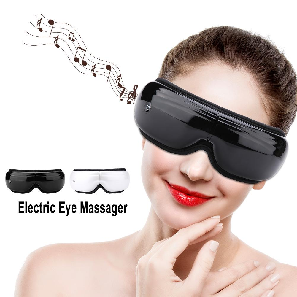 Eyes Relax Therapy Massager Wireless Rechargeable Eye Massager Hot Compress Air Pressure Eye Care Tool