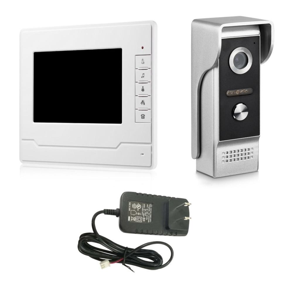 V70N-M HD 7 inch Display Wireless Video Intercom Doorbell Waterproof Villa Doorbell Home Security Visible Door Viewer doorbell villa