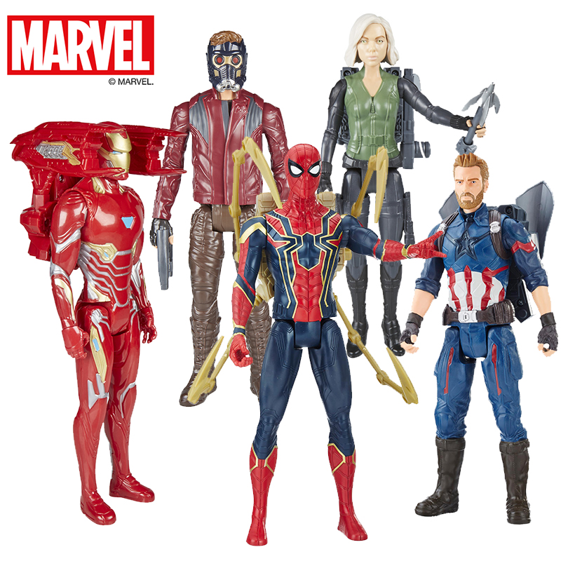 Marvel 29cm Marvel Toys the Avengers 3 INFINITY WAR Thanos PVC Action Figures TITAN Collectible Model Toys for children marvel s the avengers encyclopediа