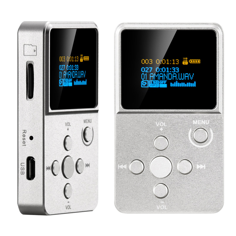 Original New MP3 Player XDUOO X2 Professional HIFI MP3 Music Player With OLED Screen Support MP3 WMA APE FLAC WAV Format TF Card