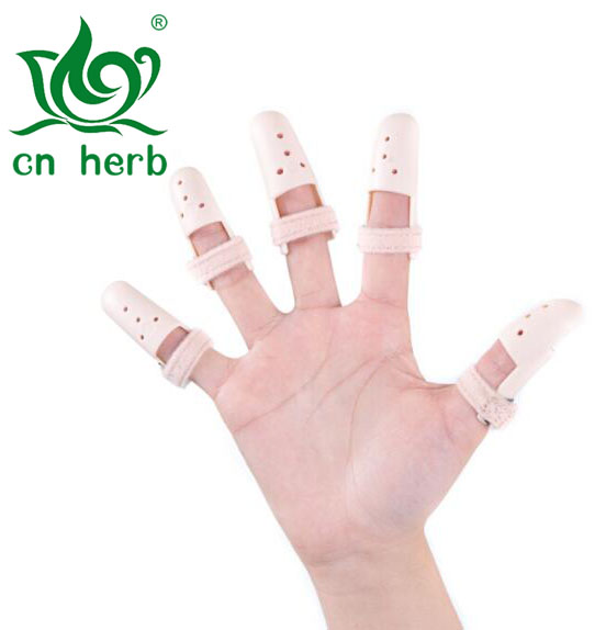 Cn Herb 6 Pcs/set Finger Plywood Joint Fitted Rehabilitation Equipment Finger Orthosis Orthopedic Orthotics Recovery Flexion aluminum plate fitted plywood fitted plate fitted plate