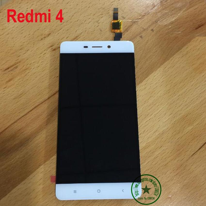"""imágenes para 5.0 """"negro de Oro Blanco de Calidad SUPERIOR NUEVO Hongmi 4 Pantalla LCD Asamblea Del Digitizador de la Pantalla táctil Para Xiaomi Redmi 4 16 gb teléfono partes"""