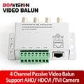 4Ch BNC Video Balun RJ45 Port Or Terminal Block UTP Cable Transfer CCTV Converter Plug And Play Support 720P HDCVI Camera 400m