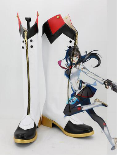 Closers Ranger Yuri Seo Yuri Asuma Cosplay Boots Shoes Costume Accessories Halloween Party Boots for Adult Women Shoes