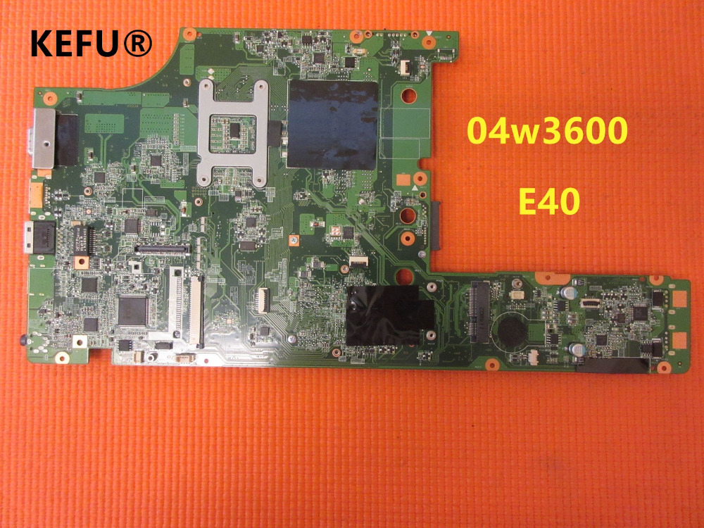 KEFU Fru 04w3600 Laptop Motherboard for Lenovo E40 14 HM55 DDR3 Mainboard works
