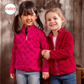 For 4-7 years 2017 Spring&Autumn children hoodies Girls double polar fleece jackets and coats kids girls sweatshirt High-Quality