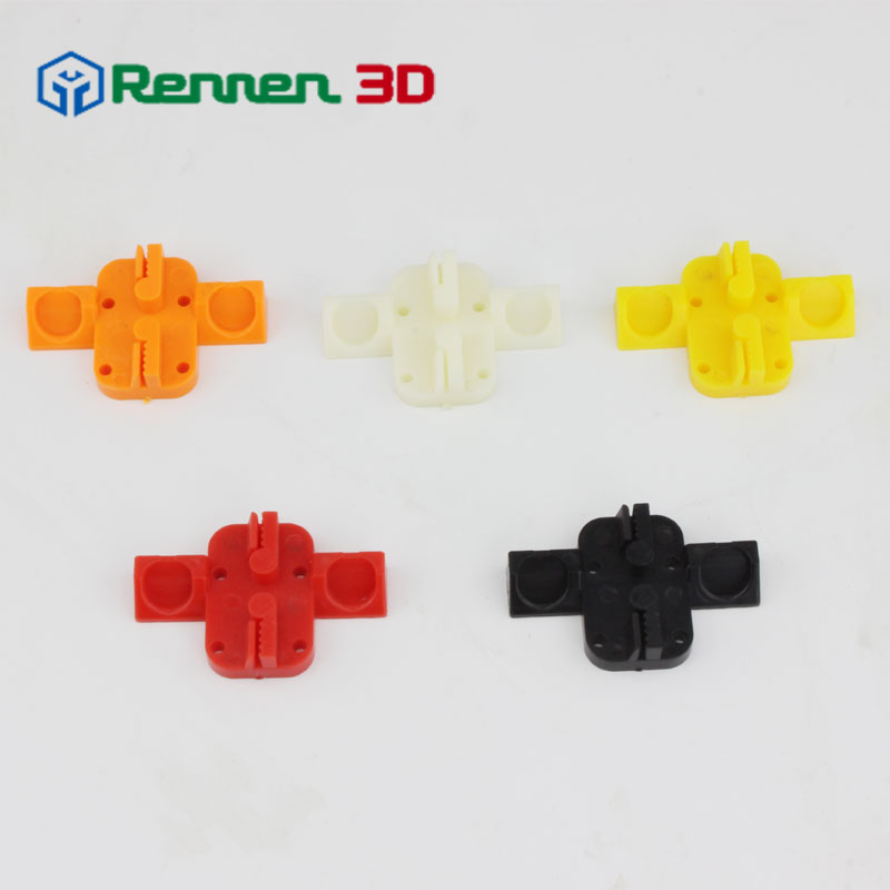3Pcs lot delta 3d printer accessories high strength injection part magnetic sliding carriage for kossel reprap