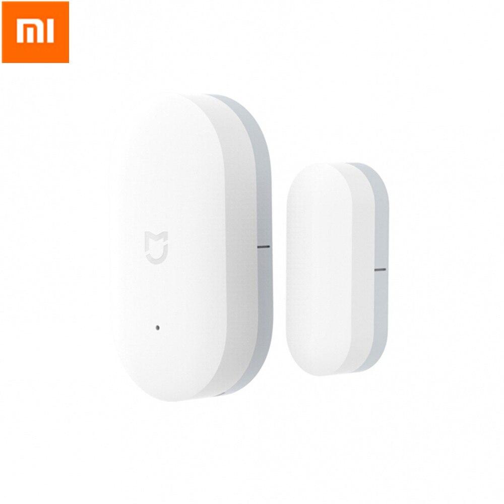купить 5pcs Original Xiaomi Mi Intelligent Mini Door Window Sensor Automatic Lights Human Body Sensor For Smart Home Kits Alarm System онлайн