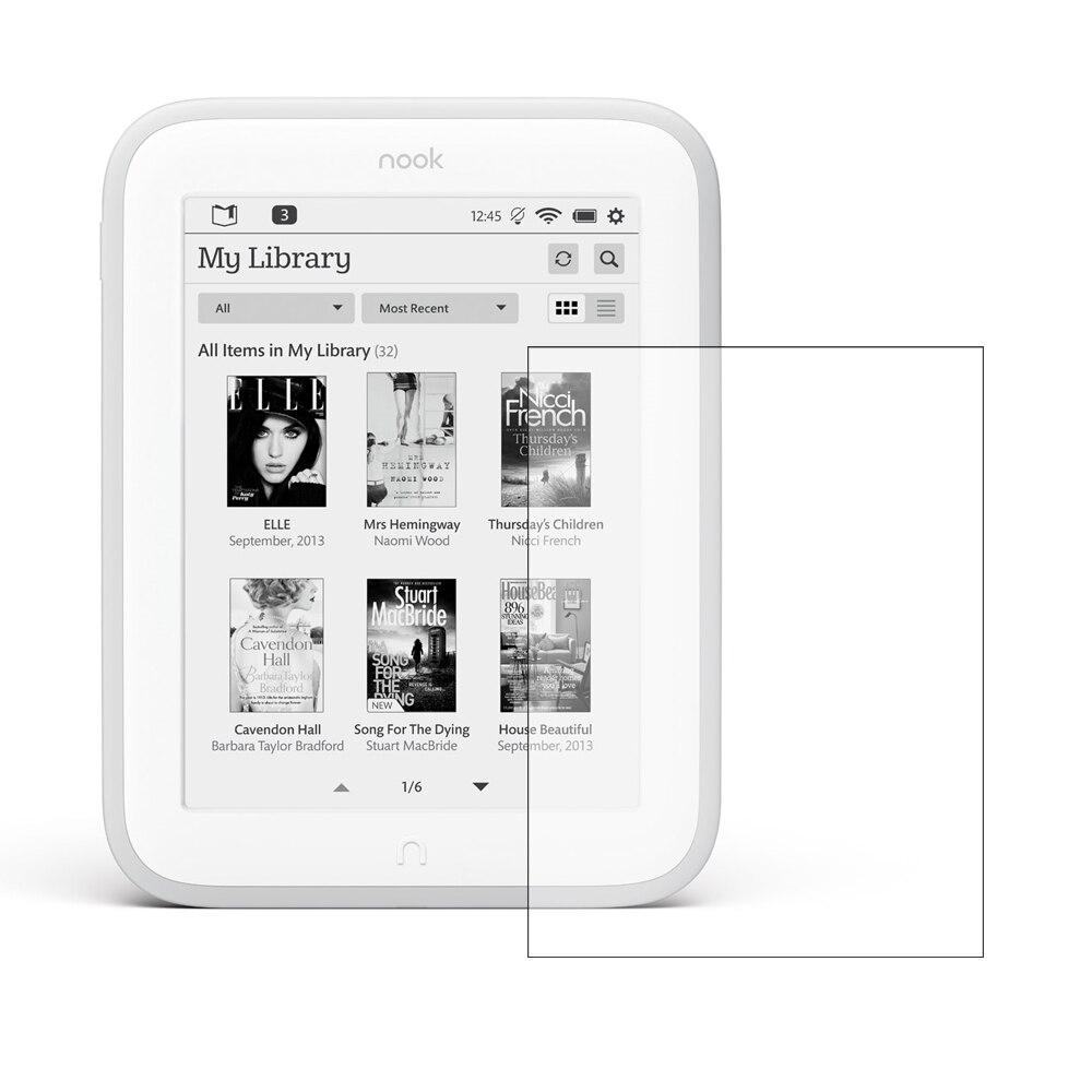 Anti-scratch Clear Lcd Screen Protector Schild Film Für Nook Glowlight Nook4 Tablet Zubehör Auf Dem Internationalen Markt Hohes Ansehen GenießEn Tablet-display-schutzfolien