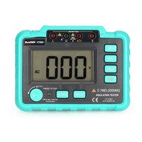 VC60B+ 1000V Digital Auto Range Insulation Resistance Meter Tester Megohmmeter Megger High Voltage LED Indication