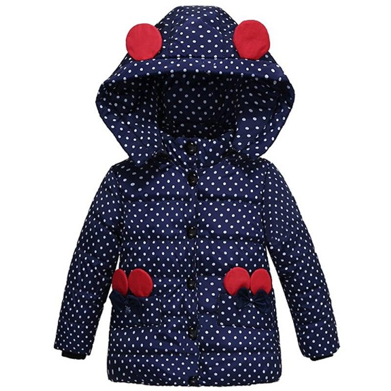 winter jacket for Girl down parka Warm Children jacket Outwe