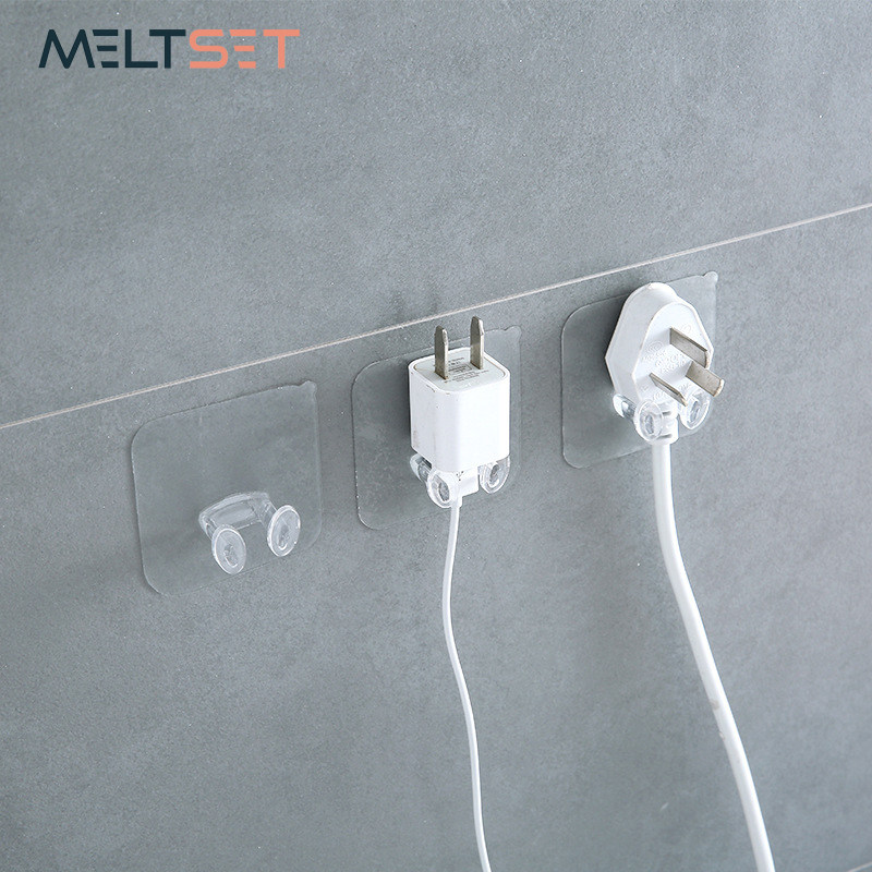 Online Shop 4x Useful Wire Cord Storage Rack Plug Cable Organizer ...
