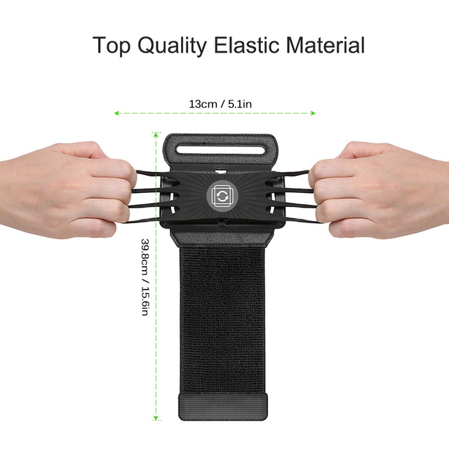 Wristband Bag Phone Holder During Active Sports