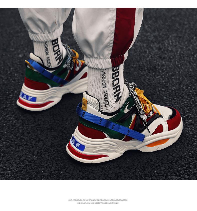 e42581b3f INS Vintage Dad Sneakers 2018 Kanye West 700 Light Breathable Men ...
