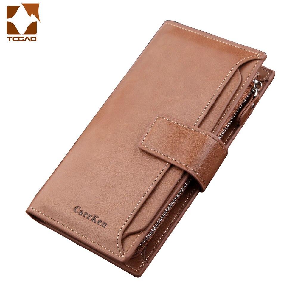 Unisex Women's Wallet Leather Long Multifunction Wallet Card Holder Clutch Wallet Woman Luxury Purse Designers Pochette Uomo