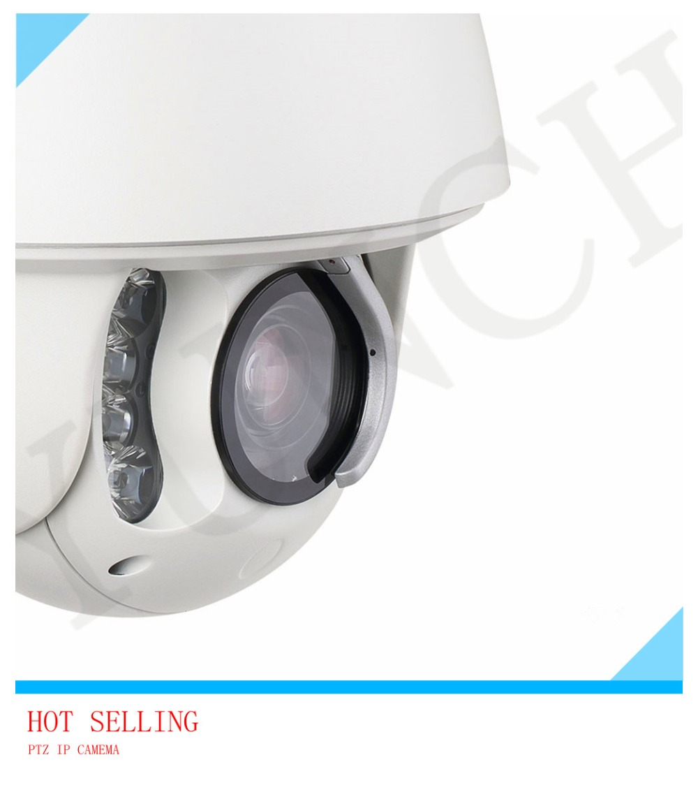 Professional factory HD 1080P 2MP auto tracking PTZ IP Camera 20X zoom infrared 150m security with