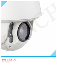 Professional factory HD 1080P 2MP auto tracking PTZ IP Camera 20X zoom infrared 150m security with wiper/audio/ alarm IP CCTV