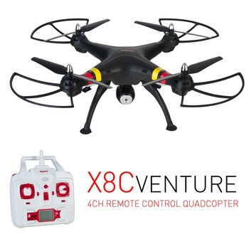 Syma X8C RC Drone Headless Mode 2.0MP HD Camera Quadcopter with Camera Wifi RTF 2.4G 6 Axis 4CH Rc Helicopter Kids Toys