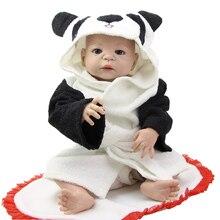 Lifelike Full Silicone Vinyl Reborn Dolls 23 Inch/55cm Lifesize Baby Doll Boy so Truly Kids Christmas Birthday Gift