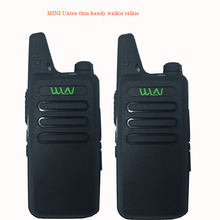 2pcs  Best Thin UHF 400-470Mhz Wireless Walkie Talkie WLN Kd-C1 With 5W Ham Radio Scanner Mini Mobile Two Way Transceiver