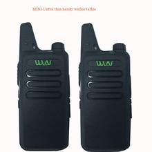 2 шт. Лучший Тонкий UHF 470 мГц 400 Беспроводная рация WLN Kd-C1 с 5 Вт Ham радио сканер мини мобильный двухсторонний радио трансивер
