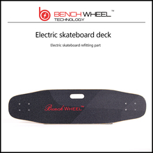 BENCHWHEEL Wireless remote controlled electric skateboard deck lucid Frosted tape