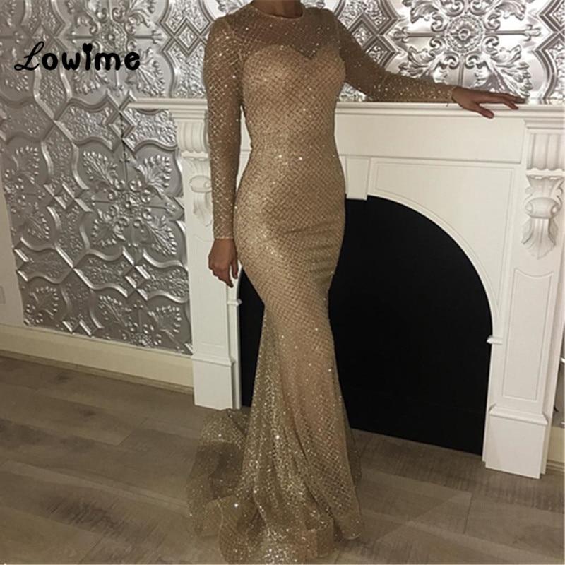 2018 New Abiye Dubai Abaya Mermaid Evening font b Dress b font Long font b Prom