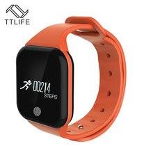 TTLIFE Новый X5 смарт-браслеты часы здоровья Smart Band фитнес трекер Браслет температура группа проверить для iPhone Samsung Xiaomi