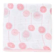 Детские муслиновые одеяла для новорожденных 100% хлопок мягкие