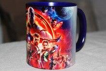 Avengers Mugs Anime Coffee Mug Marvel Infinity War Superhero Mugs 350ml Christmas Gifts