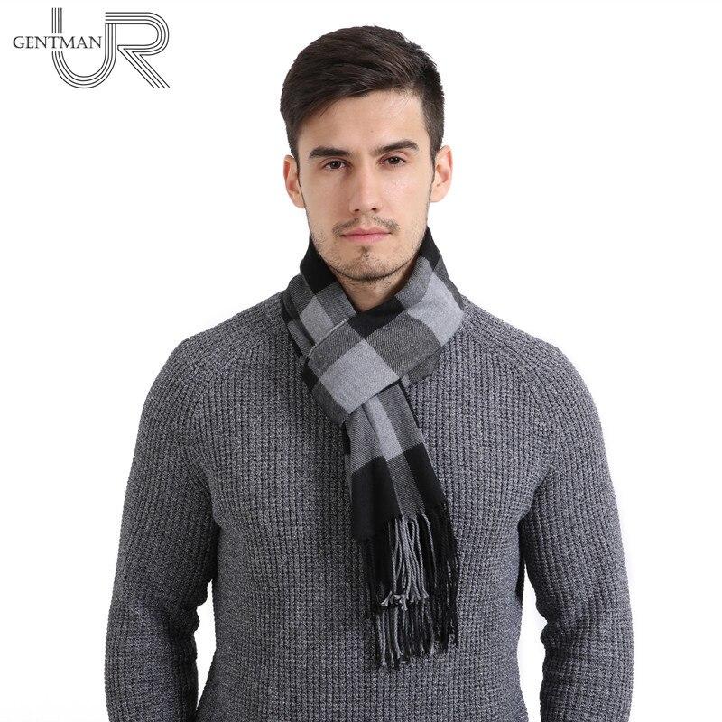 Newest 30cm*190cm Men And Women Scarf Warm Winter Scarf Fashion Plaid Scarves