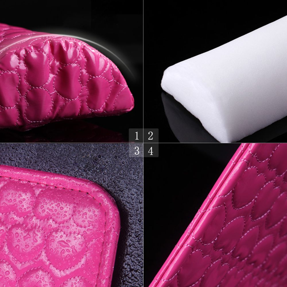 Lovely Nail Art Hand Cushion Sponge Hand Rests Pillow Holder Soft Arm Rest Mat Manicure Leather Sheet Pad Accessories Nails Beauty Set Beauty & Health Tools & Accessories