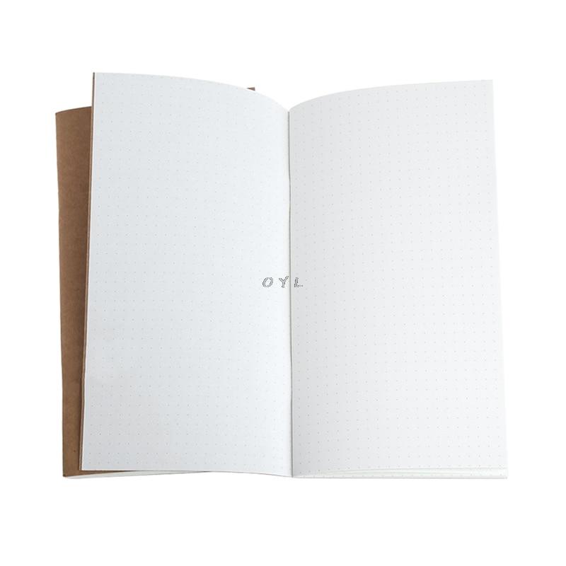 Kraft Papier Notebook Konto Buch Dot Journal Tagebuch Memo Leere Seite Schreibwaren Starker Widerstand Gegen Hitze Und Starkes Tragen Notebooks & Schreibblöcke