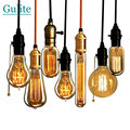 Retro Incandescent Vintage Light Bulb ST64 T45 DIY Handmade Edison Bulb Fixtures,E27/220V/40W lamp Bulbs For Pendant Lamps